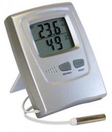 Termo-higrômetro digital umidade interna e temperatura interna e externa