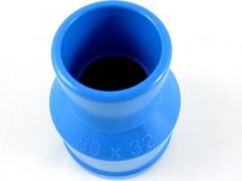Redução soldável para irrigação pvc 50 x 32 mm