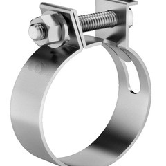 Abraçadeira tipo mangote aço inox 2 polegadas 54-62mm