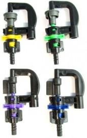 Kit com 10 micro aspersor rotativos bailarina para irrigação