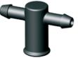 Manifold com 2 saídas para gotejador Idrop - Pacote com 10 peças