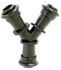 União Y 16mm anel liso 3 pontas