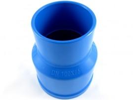 Redução soldável para irrigação pvc 100 x 75 mm