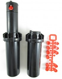Aspersor escamoteável Rotor RPS75 raio de 7 a  15 metros irrigação