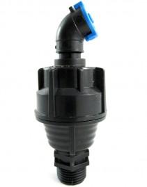 Aspersor autocompensante para irrigação bocal azul 360 L/h