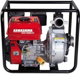 Motobomba Kawashima Gasolina GW 200-H Auto-Escorvante 7hp, 212cc 2'' Alta Press�o 50m, Sensor de �leo